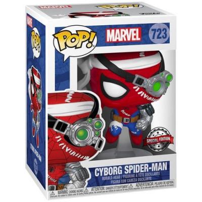 Фигурка Funko Головотряс Marvel - POP! - Cyborg Spider-Man (Exc) 52242 (9.5 см)