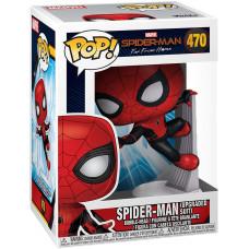 Головотряс Spider-Man: Far From Home - POP! - Spider-Man (Upgraded Suit) (9.5 см)