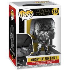 Головотряс Star Wars Episode IX The Rise of Skywalker - POP! - Knight of Ren (War Club) (Hematite Chrome) (9.5 см)
