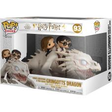 Фигурка Harry Potter - POP! Rides - Harry, Hermione & Ron Riding Gringotts Dragon (15 см)