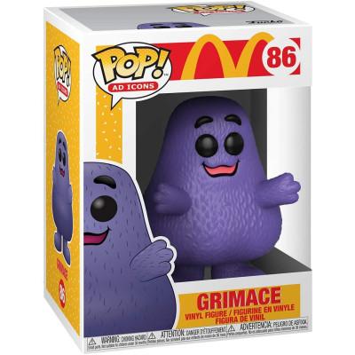 Фигурка Funko McDonald's - POP! Ad Icons - Grimace 45723 (9.5 см)