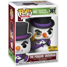 Фигурка DC: Super Heroes - POP! Heroes - The Penguin Snowman (Holiday) (Exc) (9.5 см)