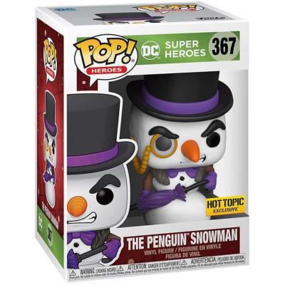 Фигурка Funko DC: Super Heroes - POP! Heroes - The Penguin Snowman (Holiday) (Exc) 51674 (9.5 см)