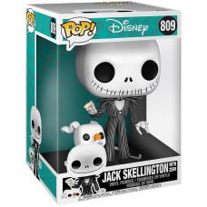Фигурка Nightmare Before Christmas - POP! - Jack Skellington with Zero (Glows In the Dark) (Exc) (25.5 см)