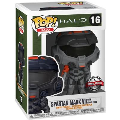 Фигурка Funko Halo: Infinite - POP! - Games - Spartan Mark VII with Shock Rifle (Exc) 51106 (9.5 см)