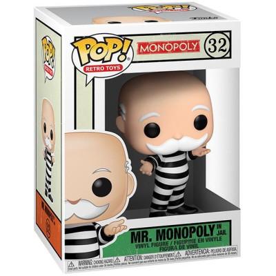 Фигурка Funko Monopoly - POP! Retro Toys - Mr Monopoly in Jail 51898 (9.5 см)