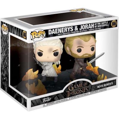 Фигурка Funko Game of Thrones - POP! Movie Moments - Daenerys and Jorah at the Battle of Winterfell 44824 (9.5 см)