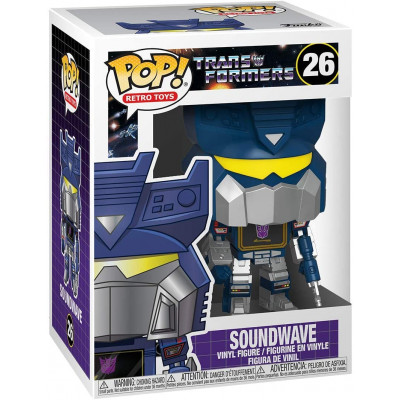 Фигурка Funko Transformers - POP! Retro Toys - Soundwave 50969 (9.5 см)