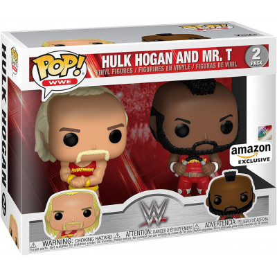 Набор фигурок Funko WWE - POP! - Hulk Hogan and Mr T (Exc) 51720 (9.5 см)