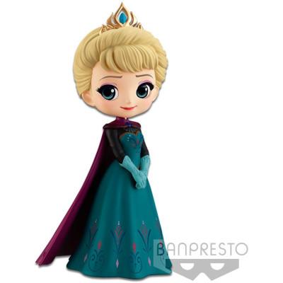 Фигурка Banpresto Frozen - Q posket Disney Characters - Elsa Coronation Style (A Normal color) 82563P (14 см)
