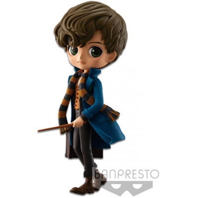 Фигурка Banpresto Fantastic Beasts and Where to Find Them - Q posket - Newt Scamander (A Normal color) 82577P (15 см)