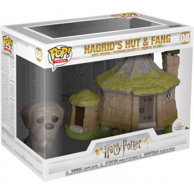 Набор фигурок Funko Harry Potter - POP! Town - Hagrid's Hut & Fang 44230 (9.5 см)