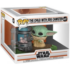 Головотряс Star Wars: The Mandalorian - POP! - The Child with Egg Canister (9.5 см)