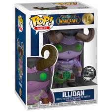 Фигурка World of Warcraft - POP! Games - Illidan (Metallic) (Exc) (9.5 см)