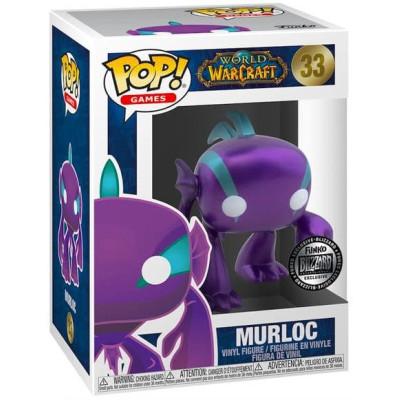 Фигурка Funko World of Warcraft - POP! Games - Murloc (Metallic) (Purple) (Exc) 52850 (9.5 см)