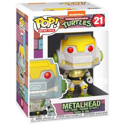 Фигурка Funko Teenage Mutant Ninja Turtles - POP! Retro Toys - Metalhead (Exc) 52245 (9.5 см)