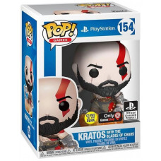 Фигурка God Of War - POP! Games - Kratos with the Blades of Chaos (Glows in the Dark) (Exc) (9.5 см)