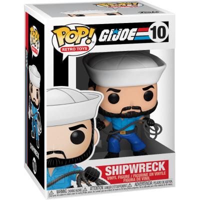 Фигурка Funko G.I.JOE - POP! Retro Toy - Shipwreck 50909 (9.5 см)