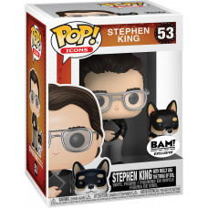 Фигурка Stephen King - POP! Icons - Stephen King with Molly Aka the Thing of Evil (Exc) (9.5 см)