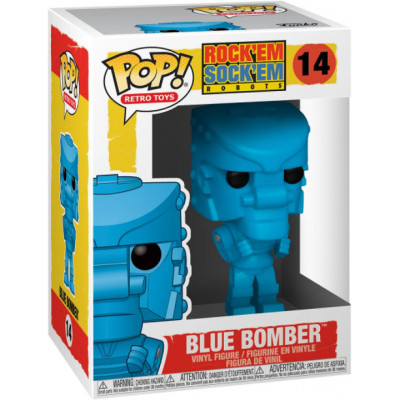 Фигурка Funko Rock Em Sock Em Robot - POP! Retro Toys - Blue Bomber 51320 (9.5 см)