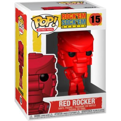 Фигурка Funko Rock Em Sock Em Robot - POP! Retro Toys - Red Rocker 51321 (9.5 см)