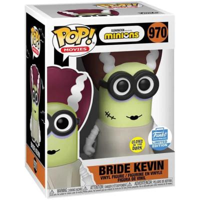 Фигурка Funko MInions - POP! Movies - Bride Kevin (Glows in the Dark) (Exc) 40108 (9.5 см)