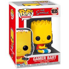 Фигурка Simpsons - POP! TV - Gamer Bart (Exc) (9.5 см)