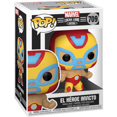 Фигурка Funko Головотряс Lucha Libre - POP! - El Heroe Invicto (Marvel Edition) 53871 (9.5 см)