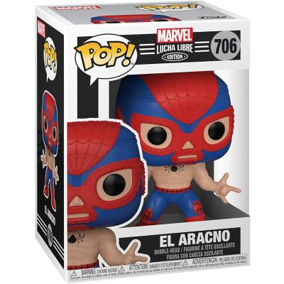 Фигурка Funko Головотряс Lucha Libre - POP! - El Aracno (Marvel Edition) 53862 (9.5 см)