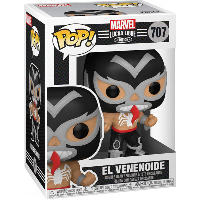 Фигурка Funko Головотряс Lucha Libre - POP! - El Venenoide (Marvel Edition) 53869 (9.5 см)