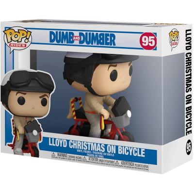 Фигурка Funko Dumb and Dumber - POP! Rides - Lloyd Christmas on Bicycle 51949 (9.5 см)