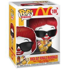 Фигурка McDonald's - POP! Ad Icons - Rock Out Ronald McDonald (9.5 см)