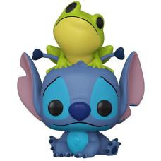 Фигурка Lilo & Stitch - POP! - Stitch with Frog (Exc) (9.5 см)