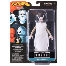 Фигурка Universal Monsters - Bendyfig - Bride Of Frankenstein (19 см)