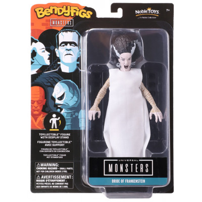 Фигурка Noble Collection Universal Monsters - Bendyfig - Bride Of Frankenstein NN1163 (19 см)