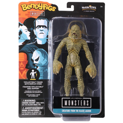 Фигурка Noble Collection Universal Monsters - Bendyfig - Creature From The Black Lagoon NN1167 (19 см)