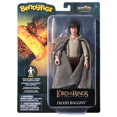 Фигурка Noble Collection The Lord of the Rings - Bendyfig - Frodo Baggins NN2817 (19 см)