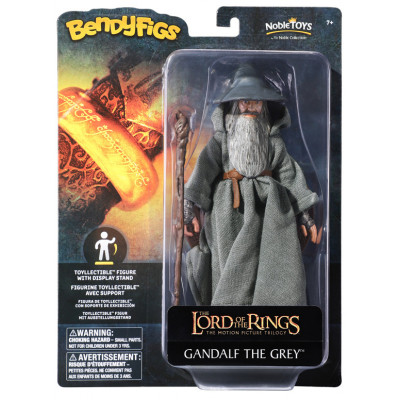 Фигурка Noble Collection The Lord of the Rings - Bendyfig - Gandalf The Grey NN2816 (19 см)
