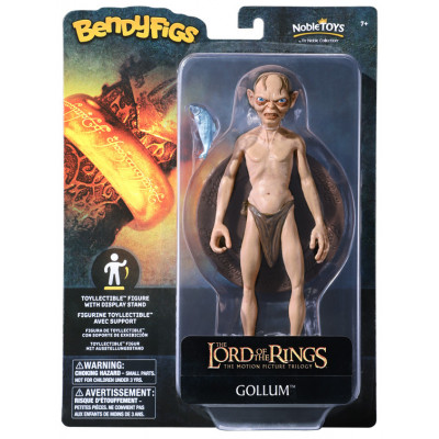 Фигурка Noble Collection The Lord of the Rings - Bendyfig - Gollum NN2818 (19 см)