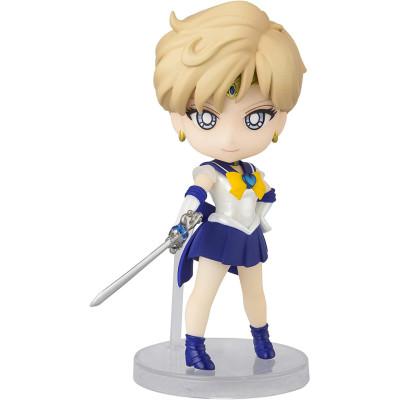 Фигурка Tamashii Nations Sailor Moon Eternal - Figuarts Mini - Super Sailor Uranus (Eternal Edition) 609908 (9 см)