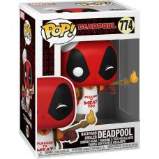 Головотряс Deadpool 30th Anniversary - POP! - Backyard Griller Deadpool (9.5 см)