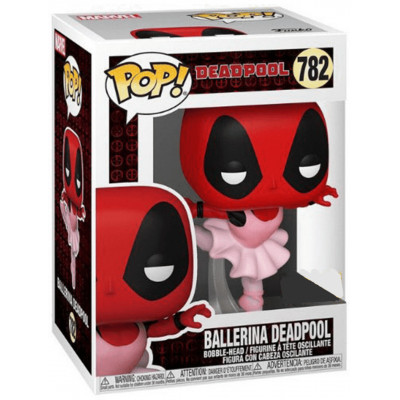 Фигурка Funko Головотряс Deadpool 30th Anniversary - POP! - Ballerina Deadpool (Exc) 54689 (9.5 см)