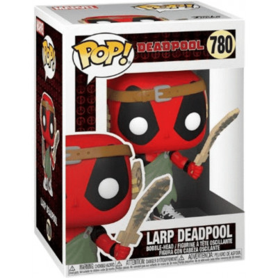 Фигурка Funko Головотряс Deadpool 30th Anniversary - POP! - LARP Deadpool 54690 (9.5 см)