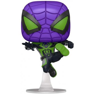 Фигурка Funko Головотряс Spider-Man: Miles Morales - POP! Games - Miles Morales (Purple Reign Suit) 54695 (9.5 см)