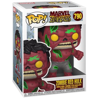 Фигурка Funko Головотряс Marvel Zombies - POP! - Zombie Red Hulk 54474 (9.5 см)