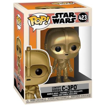 Фигурка Funko Головотряс Star Wars - POP! - Concept Series: C-3PO 50110 (9.5 см)