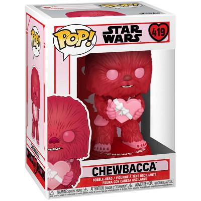 Фигурка Funko Головотряс Star Wars: Valentines - POP! - Chewbacca 52871 (9.5 см)