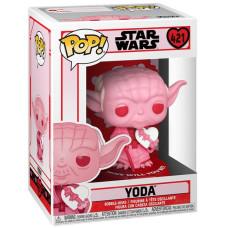 Головотряс Star Wars: Valentines - POP! - Yoda (9.5 см)