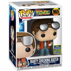 Фигурка Back to the Future - POP! Movies - Marty Checking Watch (Exc) (9.5 см)