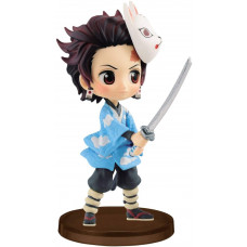 Фигурка Demon Slayer: Kimetsu no Yaiba - Q posket petit vol.1 - Tanjiro Kamado (7 см)